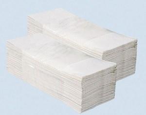 Obrázek Merida papírové ručníky skládané Z-Z bílé 2-vrstvé 160 ks