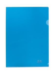 Obrázek Zakládací obal A4 barevný - tvar L / modrá / 10 ks