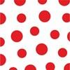 Obrázek Ubrousky papírové barevné Harmony - 33 x 33 cm / puntíky mix / 30 ks