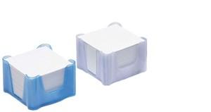 Obrázek Zásobník na záznamní kostky - matová / světle modrá