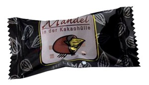Obrázek Čokolády ke kávě - Mandle v kakau