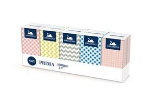 Obrázek Kapesníčky papírové Harmony - třívrstvé Prima / 10 x 10 ks