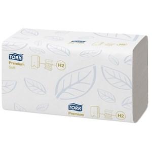 Obrázek Ručníky papírové skládané Tork Express Multifold - bílé / dvouvrstvé / 110 ks